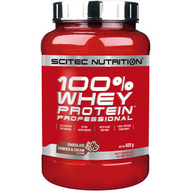SCITEC 100% Whey Protein Professionell Polvo 920g, Chocolate Cookies and Cream